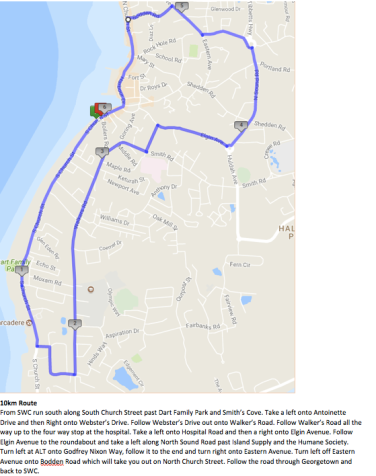 Oct 8 10K route