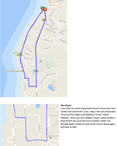 Oct 8 5K Route